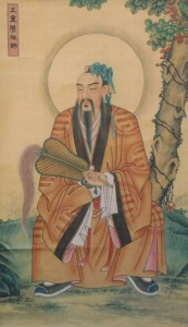 Wang Chongyang, founder of the quanzhen school of Daoism.
